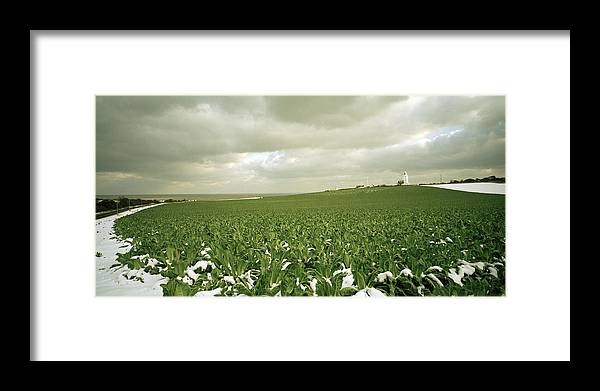 Landscape Framed Print featuring the photograph Kent In England by Shaun Higson