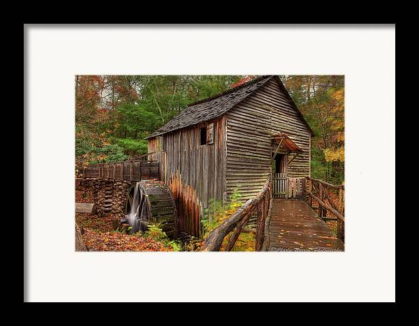 2010 Framed Print featuring the photograph Cable Mill by Charles Warren