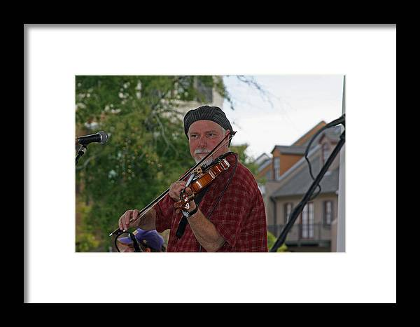 Cajun Culture Framed Print featuring the photograph Cajun Music by Ronald Olivier
