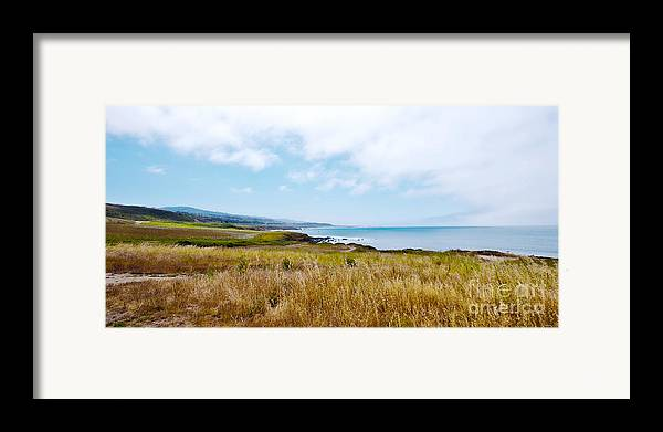 California Pacific Coast Highway Framed Print featuring the photograph California Pacific Coast Highway - Forever Summer by Artist and Photographer Laura Wrede