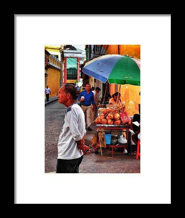 Calle De Coco Framed Print featuring the photograph Calle De Coco by Skip Hunt