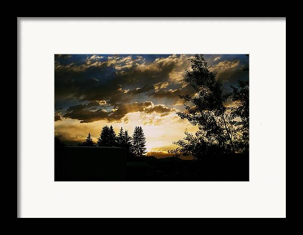 Sunset Framed Print featuring the photograph Calling by Kevin Bone