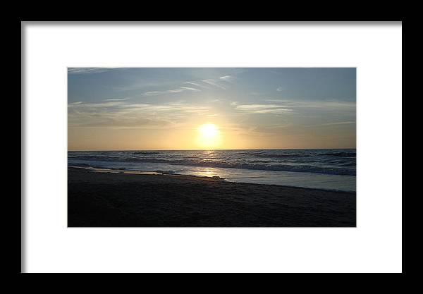 Landscape Framed Print featuring the photograph Calm Sunrise by Marcus Hudson