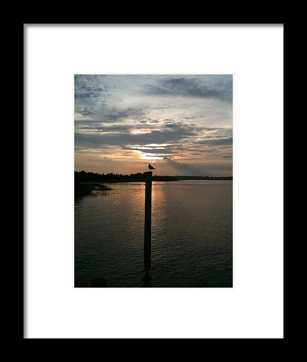 Sunset Framed Print featuring the photograph Calm Sunset by Marcus Hudson