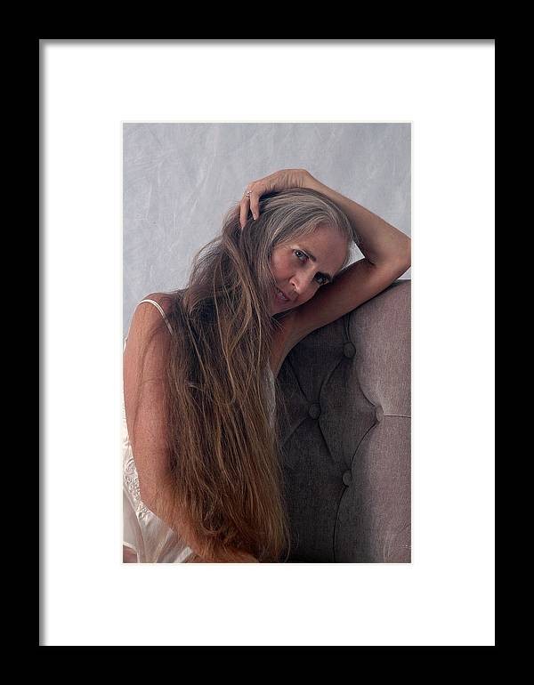 Art Framed Print featuring the photograph Camera Shy by Nancy Taylor