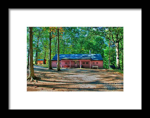 Tonemapped Framed Print featuring the photograph Camp Milton by Mark Dodd