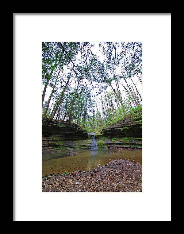 Glenlaurel Framed Print featuring the photograph Camusfearna Gorge 3a by Peter McIntosh