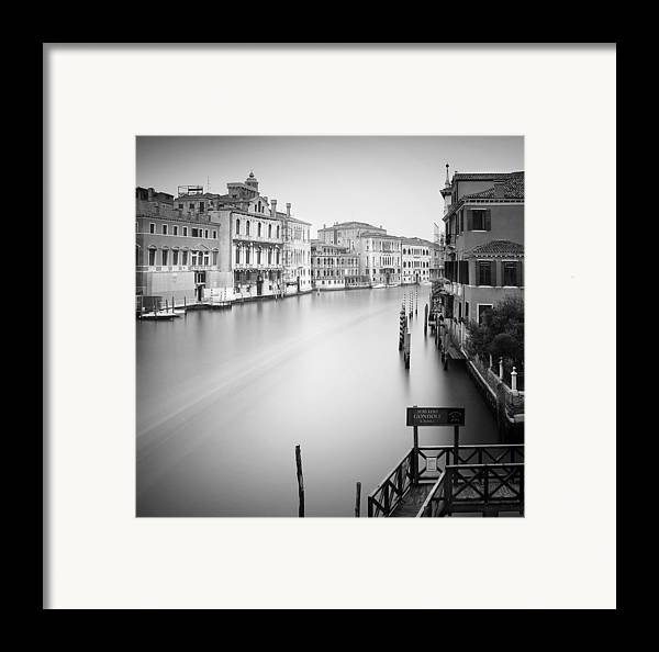 Venice Framed Print featuring the photograph Canal Grande Study Iv by Nina Papiorek