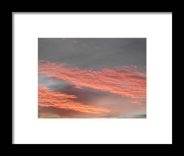 Sky Framed Print featuring the photograph Candy Floss by Rani De Leeuw