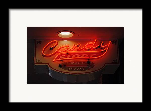 Fair Framed Print featuring the photograph Candy by Skip Willits