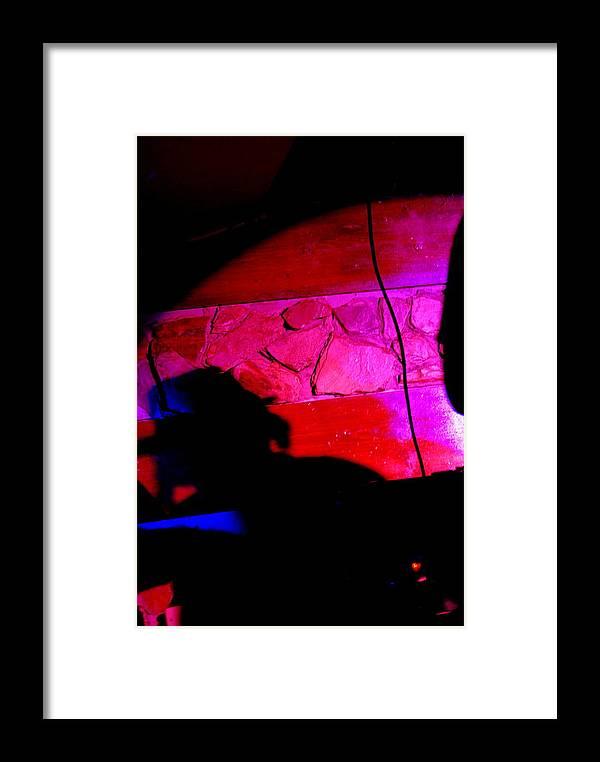 Obscure Framed Print featuring the photograph Cantante Obscuridad by Susi Perla