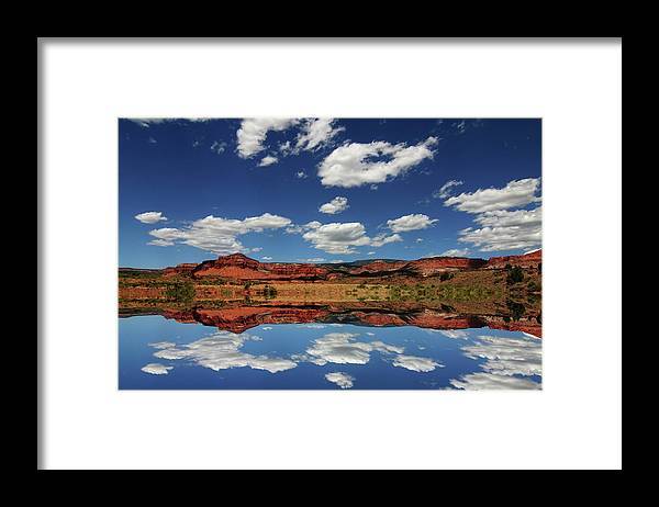 Capitol Reef National Park; Cathedral Valley; Utah; Travel; Grand Circle; Southern Utah; Beauty; Skys; Clouds; Nature; Vista; National Park; Monolith; Sandstone; Desert; Landscape; Scenic; Photography; Vast Framed Print featuring the photograph Capitol Reef National Park 4 by Southern Utah Photography