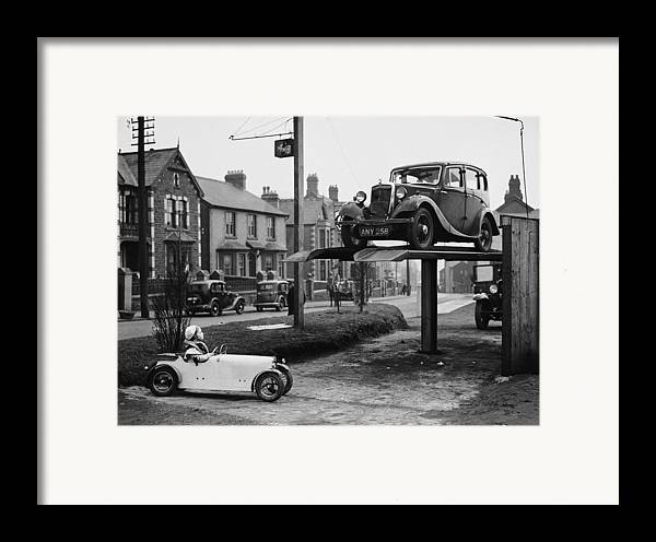Child Framed Print featuring the photograph Car Envy by Richards