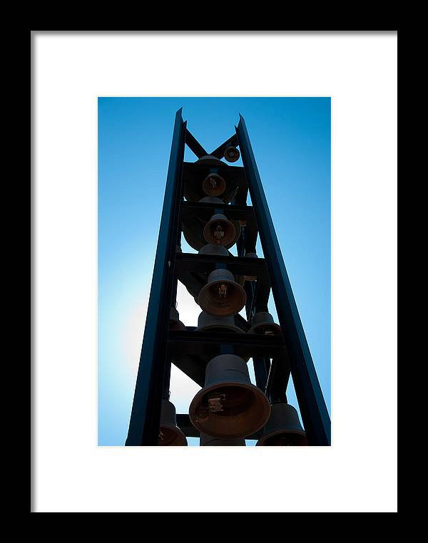Carillion Bell Tower Framed Print featuring the photograph Carillon Bell Tower 9/11 Memorial by Heidi Reyher