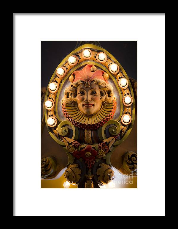 New Orleans Framed Print featuring the photograph Carnival by Leslie Leda