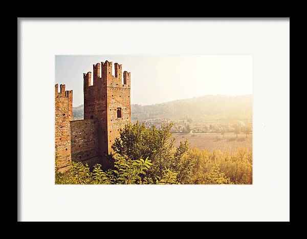 Horizontal Framed Print featuring the photograph Castell'arquato by Just a click