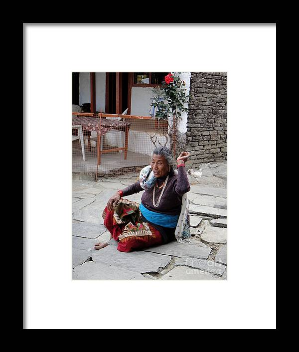 Nepal Framed Print featuring the photograph Catch by Nika One
