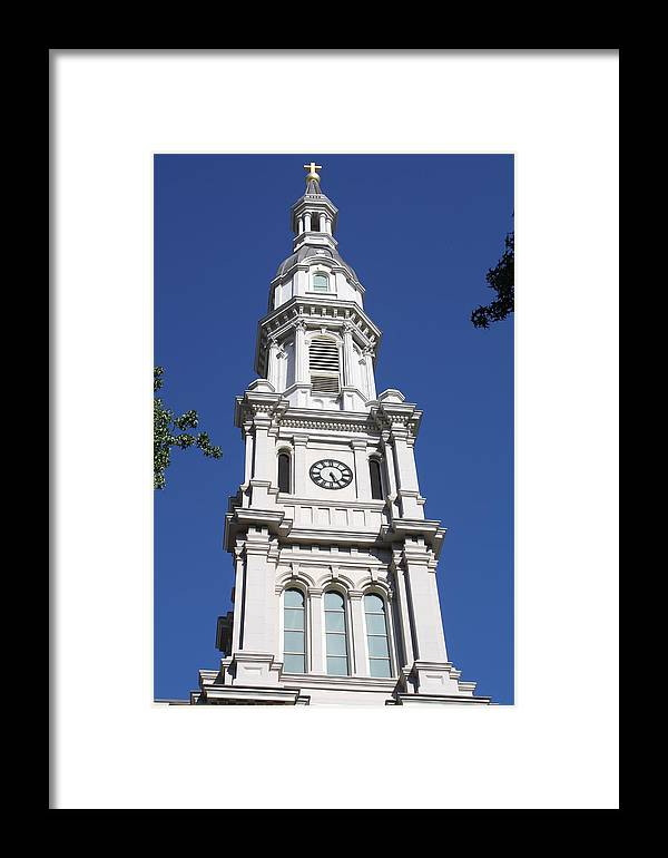 Church Framed Print featuring the photograph Cathedral by Tami Rounsaville
