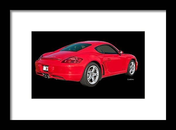 Porsche Cayman Framed Print featuring the photograph Cayman 2 by Larry Linton