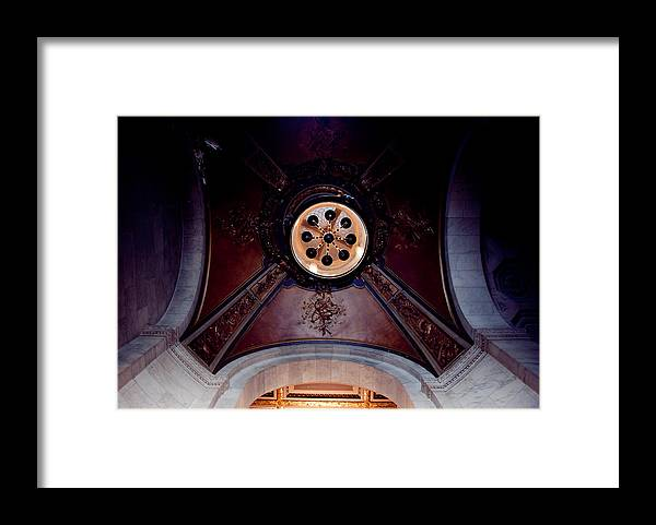 Arch Framed Print featuring the photograph Ceiling Design by Heidi Reyher