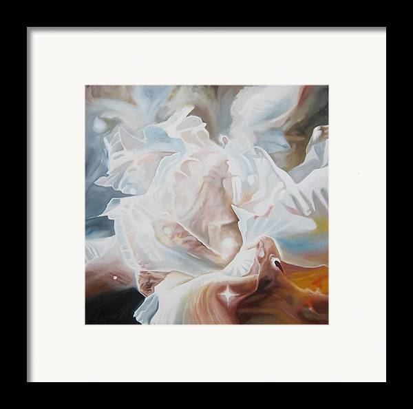 Nebula Framed Print featuring the painting Celestial Beauty by Leonard Aitken