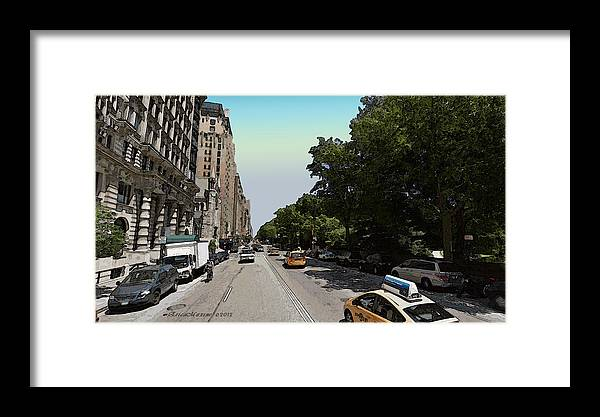 Nyc Framed Print featuring the photograph Central Park West by Ericamaxine Price