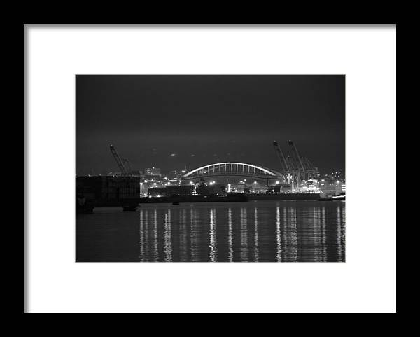 Football Framed Print featuring the photograph CenturyLink Field by Michael Merry