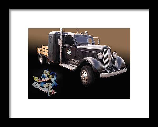 36 Framed Print featuring the photograph Cfac 36 Dodge by Bill Dutting