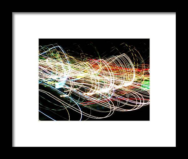 Lights Framed Print featuring the photograph Chaos by Jessi Williams
