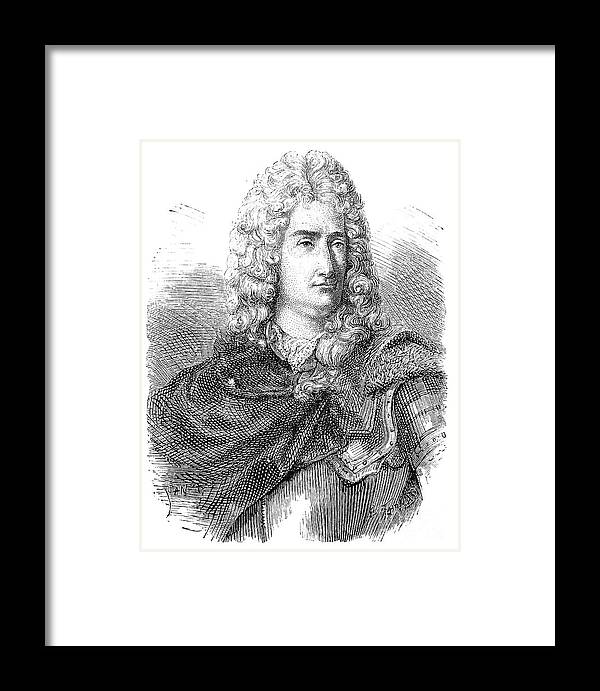 18th Century Framed Print featuring the photograph Charles-francois Du Fay by Granger