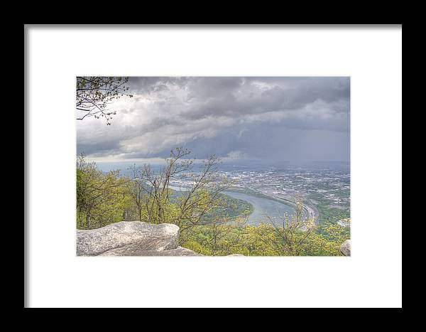Chattanooga Framed Print featuring the photograph Chattanooga Valley by David Troxel