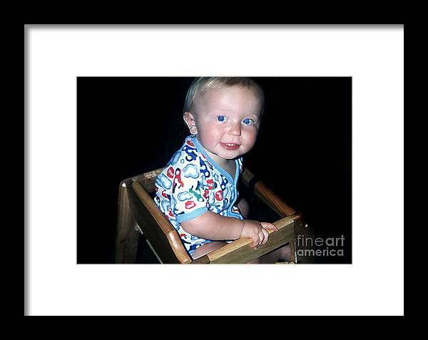 People Framed Print featuring the photograph Cheeks by Susan Stevenson