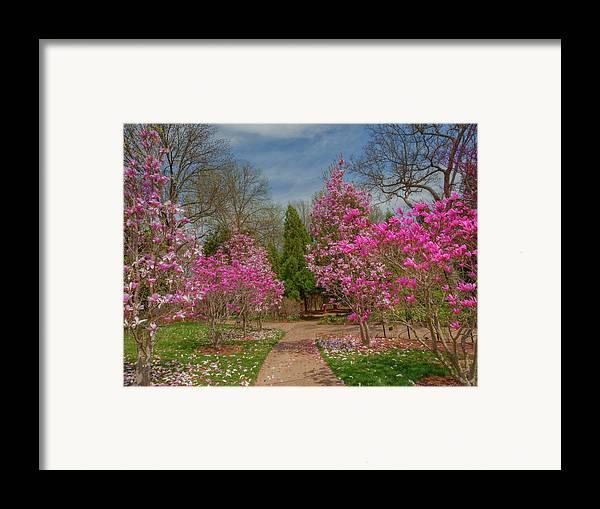 Cheekwood Gardens Framed Print featuring the photograph Cheekwood Gardens by Charles Warren