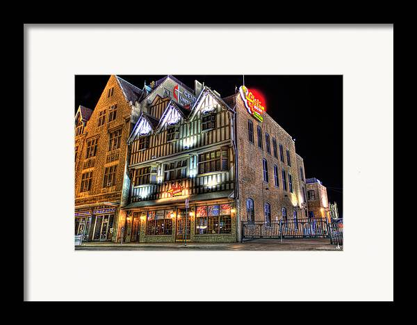 Cheli's Chili Bar Framed Print featuring the photograph Cheli's Chili Bar Detroit by Nicholas Grunas