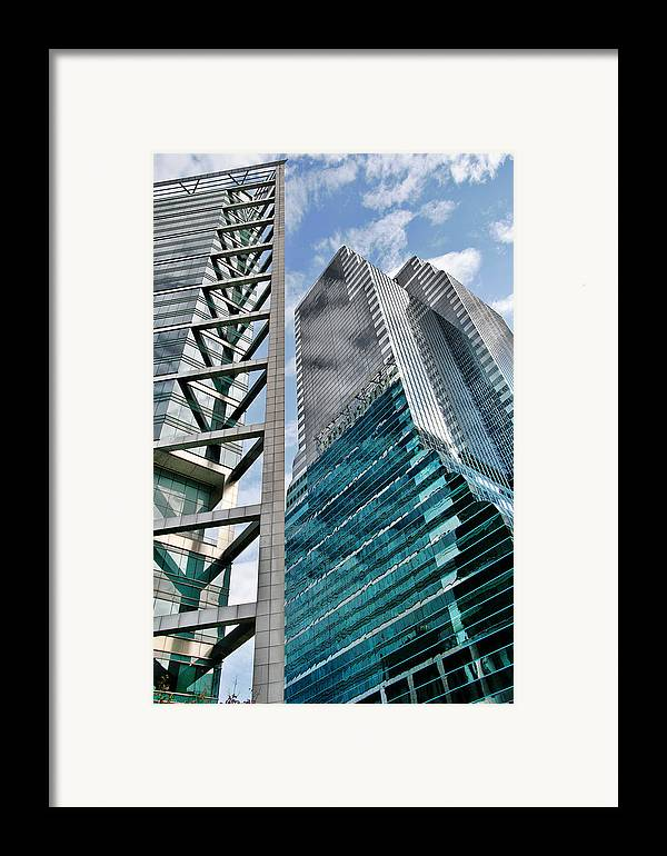 Downtown Framed Print featuring the photograph Chicago - A Sophisticated Finance Hub by Christine Till