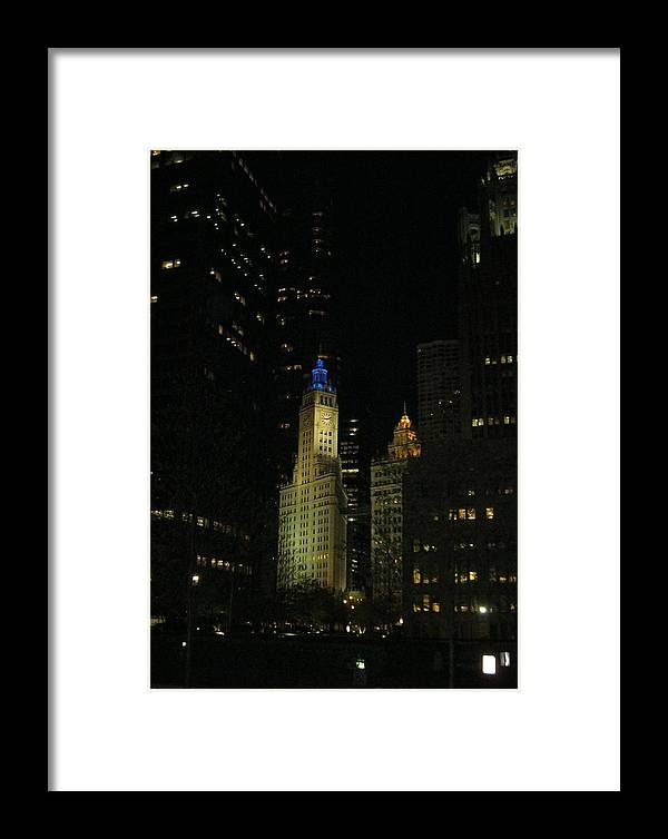 Chicago Framed Print featuring the photograph Chicago Old And New by Mick Barratt