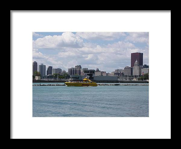 Chicago Framed Print featuring the photograph Chicago Skyline by Monnie Ryan