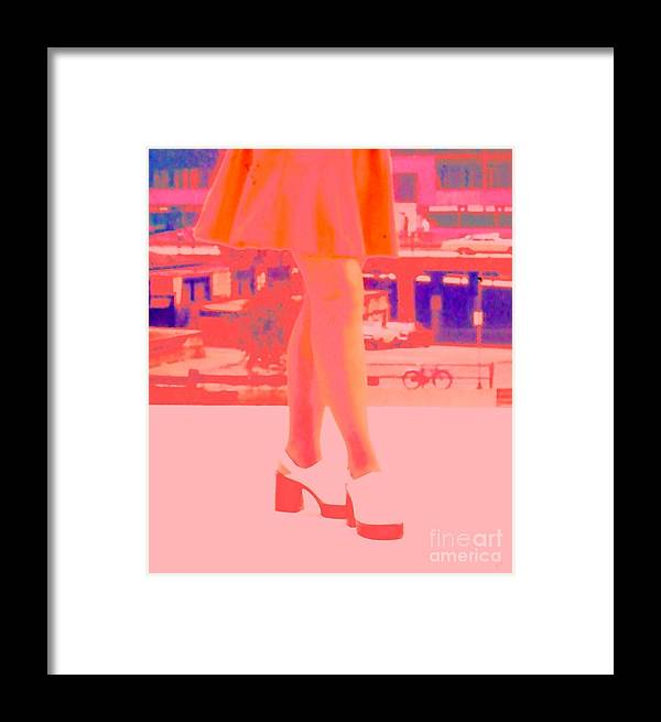 Shoes Framed Print featuring the photograph Chicago Vintage Chic by Ann Johndro-Collins