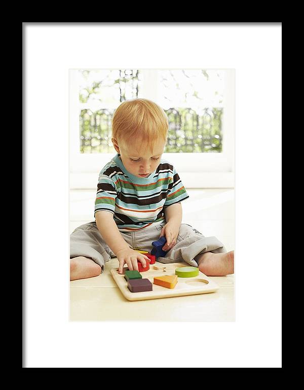 Human Framed Print featuring the photograph Childhood Development by Ian Boddy