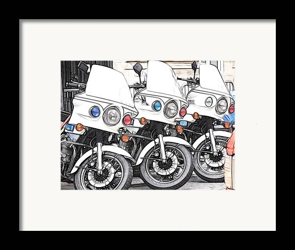 Accessories Framed Print featuring the photograph Chips With Everything by Fiona Messenger