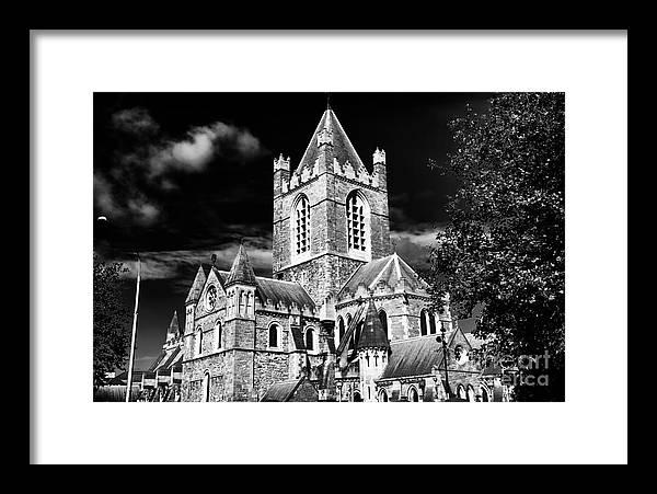 Christ Church Framed Print featuring the photograph Christ Church by John Rizzuto