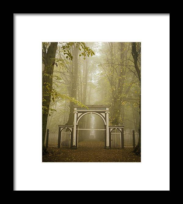 Dk Framed Print featuring the photograph Christiansfeld Monastery Graves by Jan W Faul