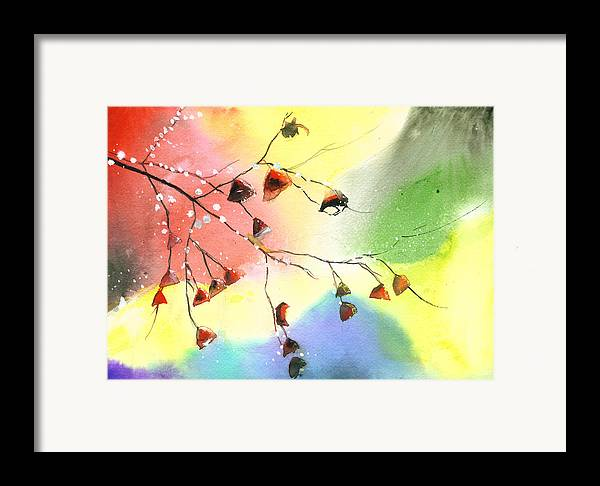 Nature Framed Print featuring the painting Christmas 1 by Anil Nene