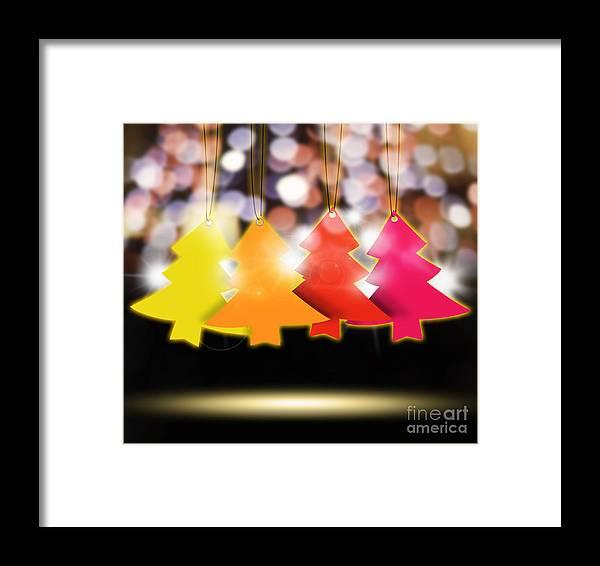 2013 Framed Print featuring the photograph Christmas And New Year 2013 by Setsiri Silapasuwanchai