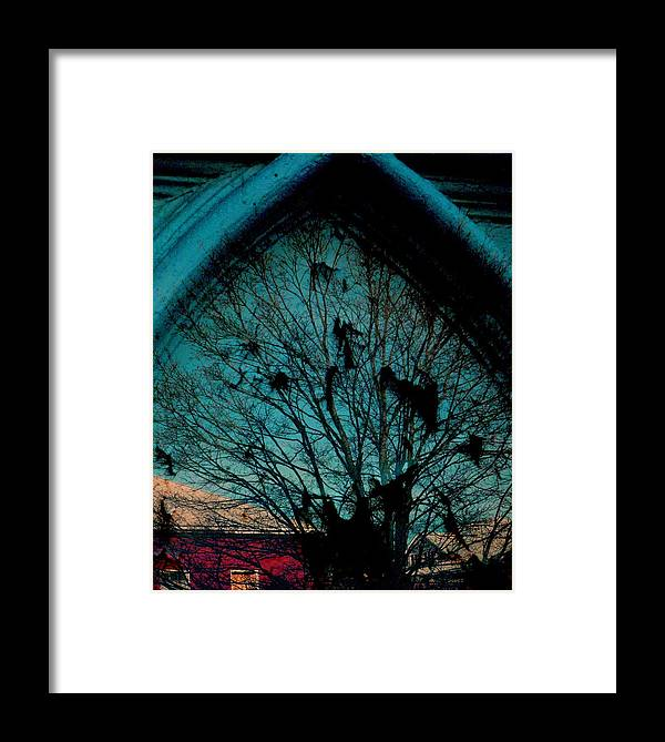 Window Framed Print featuring the photograph Church Window by Chris Berry