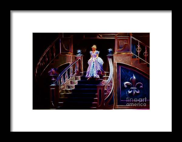 Cinderella Framed Print featuring the photograph Cinderella Enters The Ball by Darleen Stry