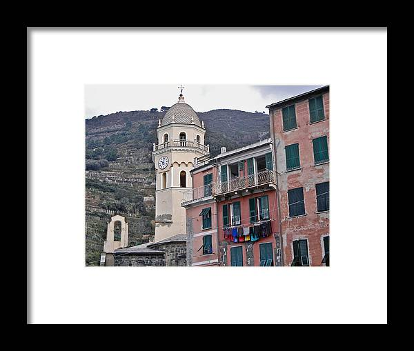 Cinque Terre Framed Print featuring the photograph Cinque Terre IV by David Ritsema