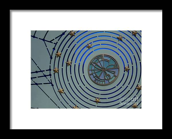 Abstract Framed Print featuring the photograph Circular Stars by Urban Shooters