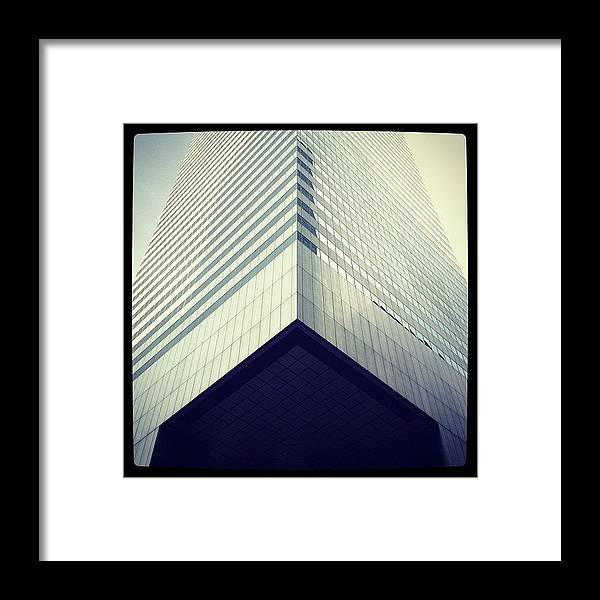 Summer Framed Print featuring the photograph Citicorp by Randy Lemoine