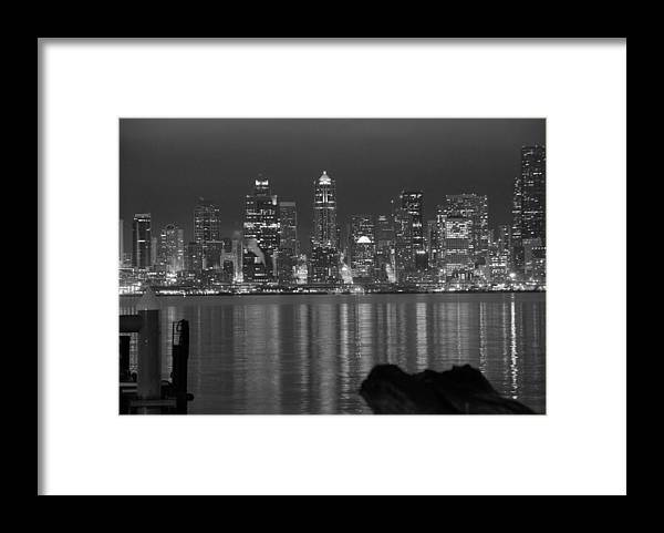 Cityscape Framed Print featuring the photograph City at Dawn by Michael Merry